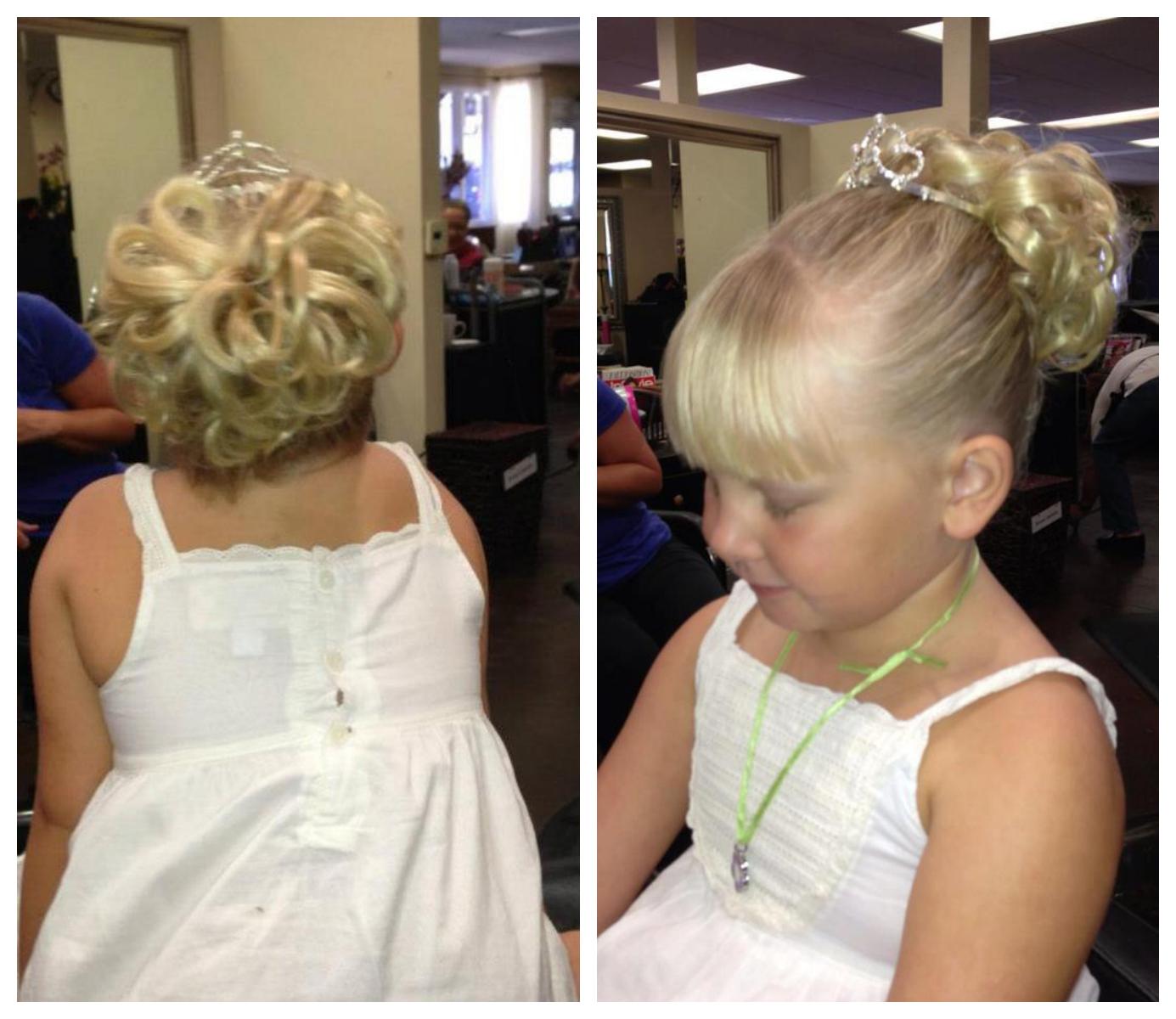 Children S Wedding Updos Thousand Oaks Hair Design Veronica